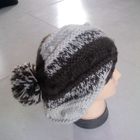 Super Warmer!! Unisex Women Winter Knitting Ski Slouch Hip-hop Beret Beanie Baggy Crochet Hat Cap