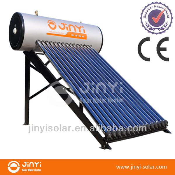 NEW 100 Liter to 300 Liters Heat Pipe Pressurized Compact Solar Water Heater
