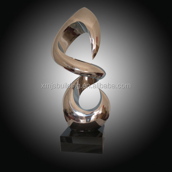 Modern stainless steel art sculpture home decoration