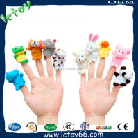 custom finger puppets minion plush toys