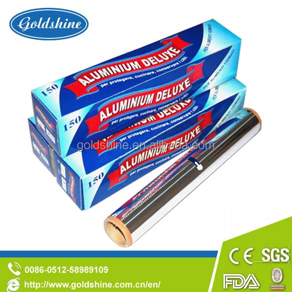 Heavy duty high quality aluminum foil wrapping paper in chnia
