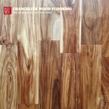 "3/4"" Natural Short Leaf Acacia Walnut Hardwood Flooring"