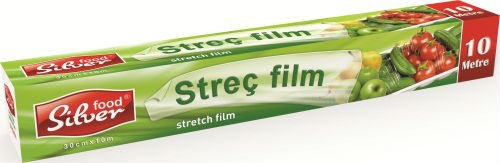 SILVER STRETCH FILM 30 CM X 10 M