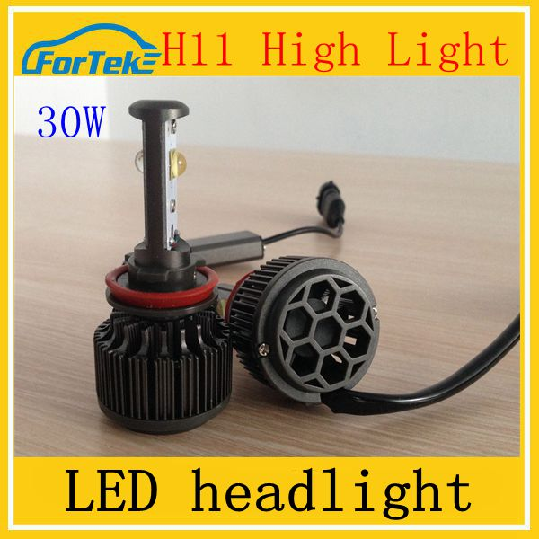 high power led headlight bulb h11 30w motorcycle headlight led car headlight kit