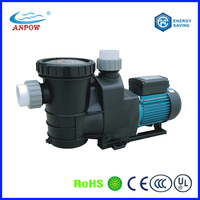 20years factory Anpow 10kw 1.0hp 1.5hp 2hp 3hp 5hp 7.5hp 15hp electric centrifugal water pump swimming pool pumps
