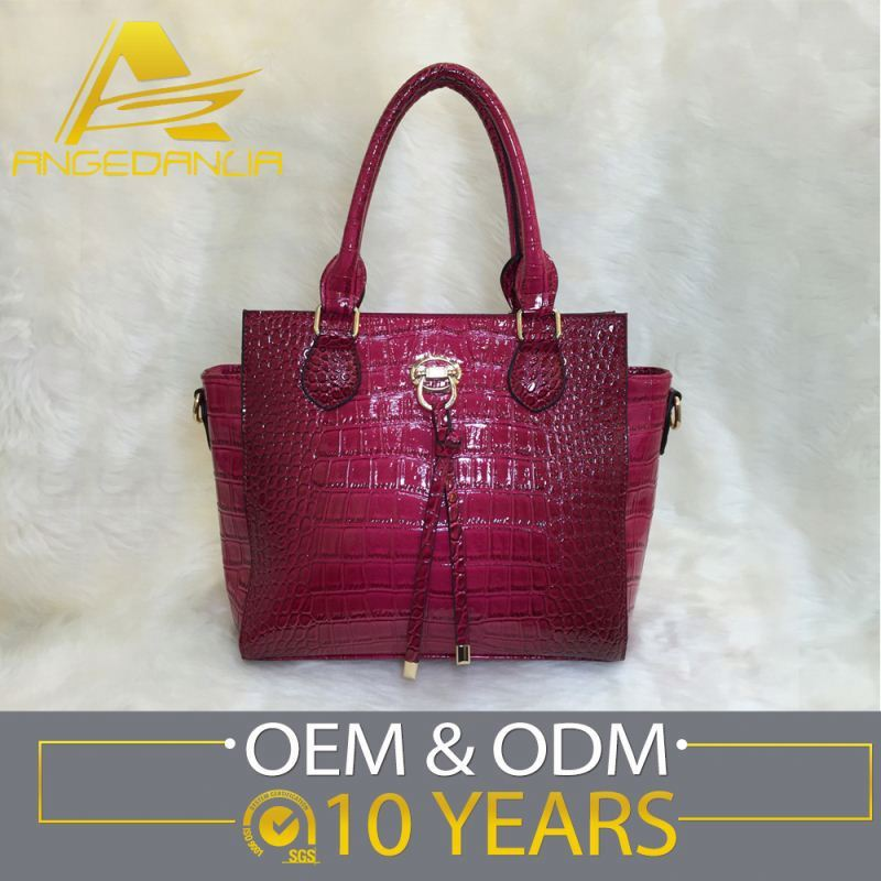 Latest Designs Customized Logo Images Ladies Hand Bags