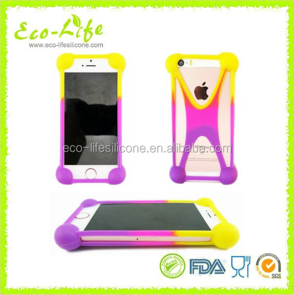 Good Flexibility Frame Bumper Universal Silicone Mobile Phone Case For All Phones