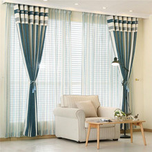 wholesale polyester drapery and window curtain for living room