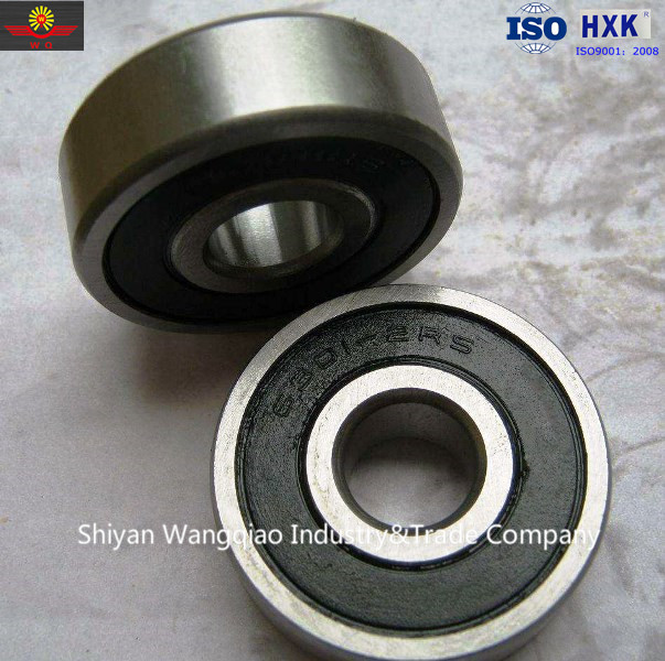 Engine bearing Deep Groove Ball Bearing 6301 2rs zz 12x37x12mm in stock