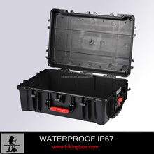 ABS Material Injection Molded Plastic Tool Case /Hard Shell Plastic Trolley Case HTC028