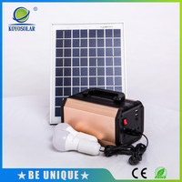 Mini Household Solar Home Lighting System