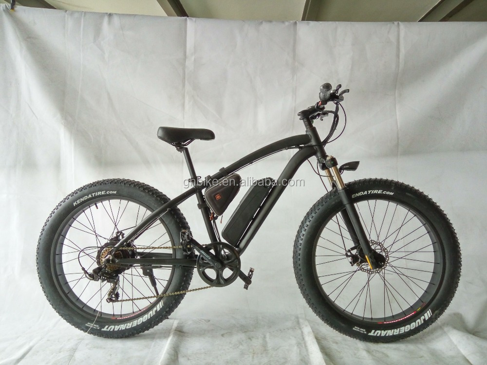 500W 48V bafang motor samsung battery mountain fat tire snow electric bike