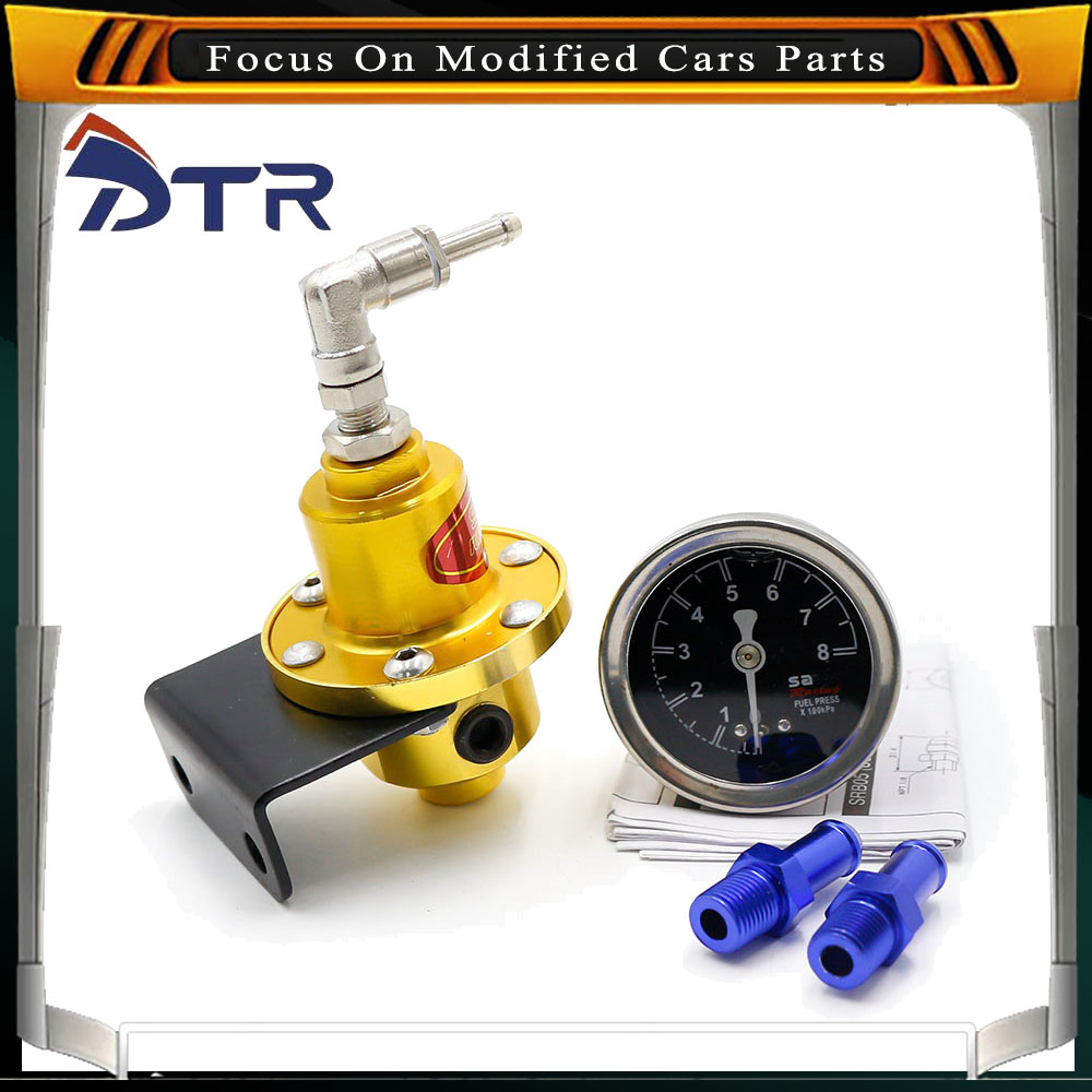 Common Rail fuel pressure regulator for carbureted engines