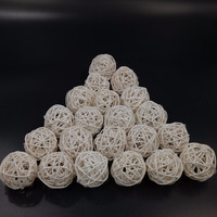 Natural Color Rattan Wicker Ball For