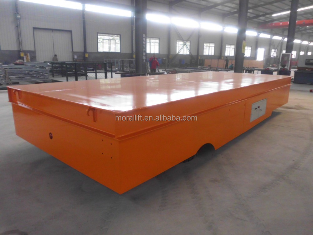 Rail Transfer Cart With Lift Table