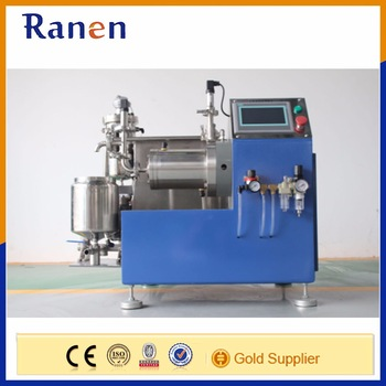 good quality 4kw horizontal lab sand mill