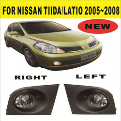 Top quality fog lamp for Nissan Tiida 2005 to 2008 auto parts