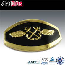 Zinc alloy metal custom 3d eagle buckle loop