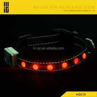 best products fake diamond dog led collars with buckle