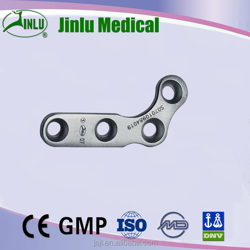 Curved 120 degree Plate Left and Right Metal bone Orthopedic Plate