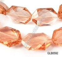 New cheap faceted rock crystal glass beads
