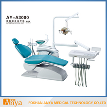 Medical machine of dental chair with reflector lamp