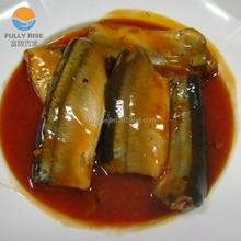 Low price Canned mackerel fish in tomato sauce canned food