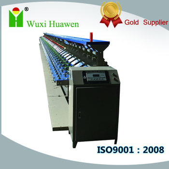 HW368A Elastic Yarn Doubling Winder Machine