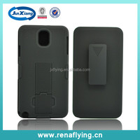 Detachable Holster Combo Hard Case for samsung N9000 with Belt Clip