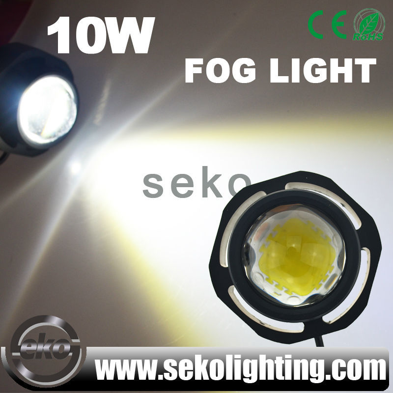 1000lms 10W skoda rapid led drl,fortuner drl light