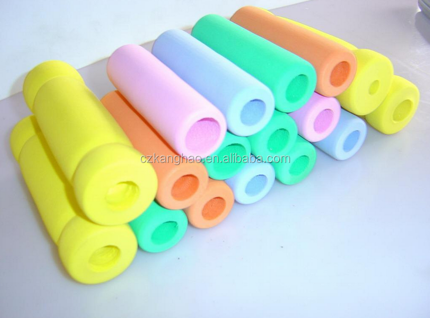 PE foam pipe color foam pipe insulation in high quality