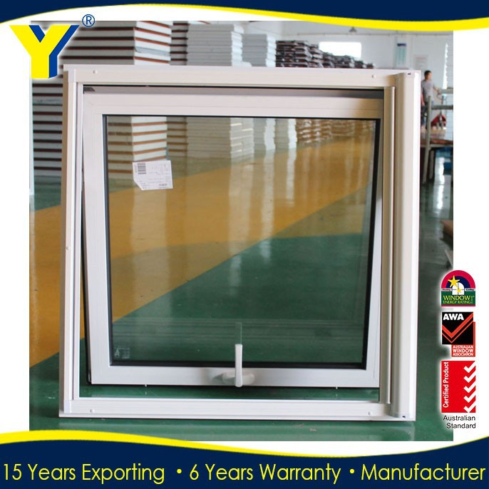 australia standard aluminium awning windows for residential with window inserts, double or triple tempered glass