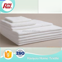 china wholesale market cotton plain or customed hand towel