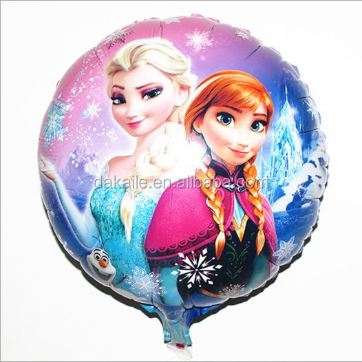 2017 New type Colorful foil and latex balloon