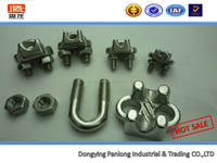 SGS And ISO Certificate Stainless Steel US Type Wire Rope Clip