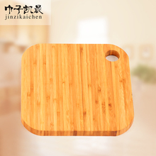 Eco-friendly Kitchen Good Helper Square Shape Thick Large Bamboo Cutting Boards