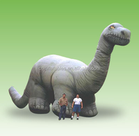 Inflatable Brontosaurus,2015 hot sale giant inflatable replica for advertising from audiinflatables