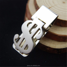 Metal US dollars Bill Clip Portable slim Wallet Cash Money Clip