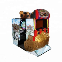 Coin operated shooting arcade game machine 55 inches deadstorm pirates