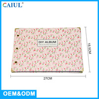 Manufactory Fashion And Quality Designer Collection 10X10 Slip Sheet Photo Album