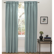 Thermal blackout curtain soft ready made curtains silk effect