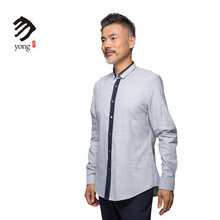 Trade Assurance Most Popular Soft Long Sleeve Mens Casual Shirt Pattern