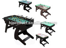 folding leg 4ft indoor Pool soccer Table tennis Hockey table 12 games in 1 table