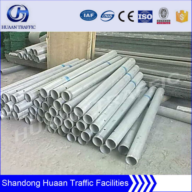 China hot dip galvanized steel crash barrier post