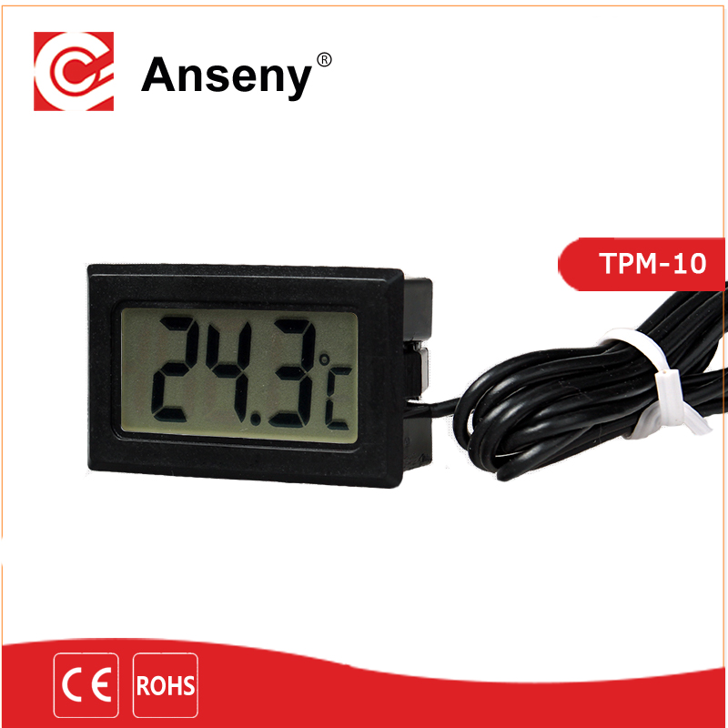CE approved Wire electronic aquarium thermometer/digital Fish Tank temp thermometer