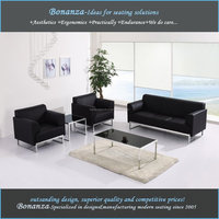 8073# modern design office leather sofa