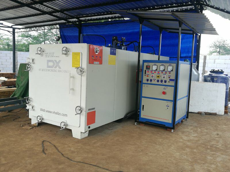 Wood Drying Oven/ High Frequency Vacuum Wood Dryer Machine