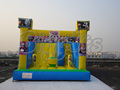 Jumping Castles Inflatable Grass Water Slide For Children
