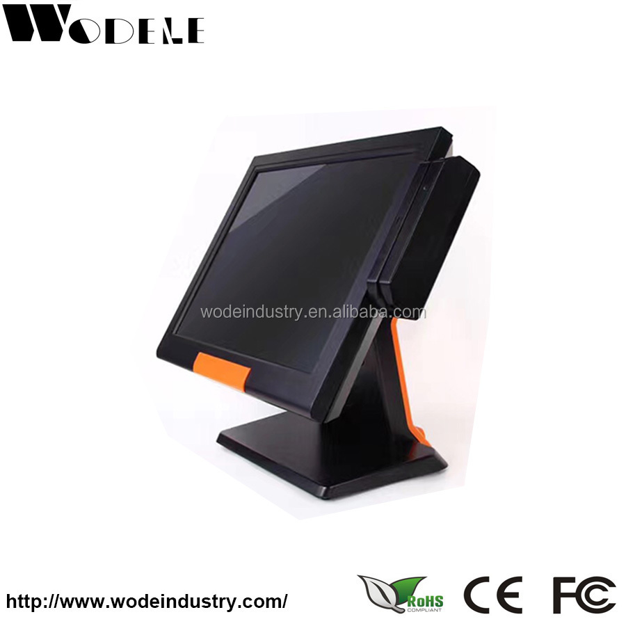 Touchscreen POS 15 LCD Monitor With Stand, CD and Cables