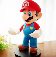 Super mario pvc action figure,wholesale plastic mini figure toy,plastic custom mini action figure
